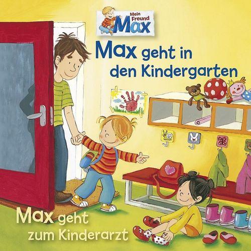 Typisch Mein Freund Max Hörspiel CD 011 11 geht in den Kindergarten geht zum Kinderarzt  NEU & OVP