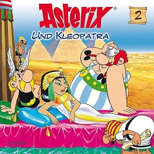 Asterix & Obelix Hörspiel CD 002 2 Asterix und Kleopatra weiß NEU & OVP