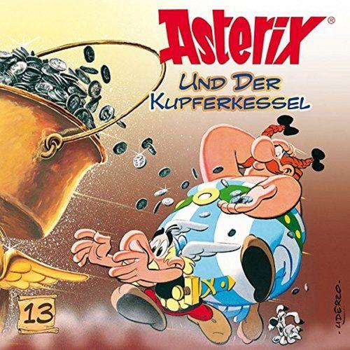 Asterix & Obelix Hörspiel CD 013 13 Asterix und der Kupferkessel weiß NEU & OVP