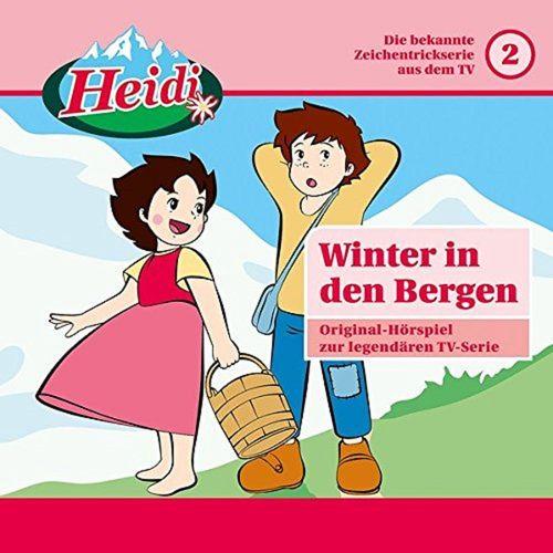 Heidi Classic Hörspiel CD 002 2 Winter in den Bergen  TV-Serie Karussell rosa  NEU