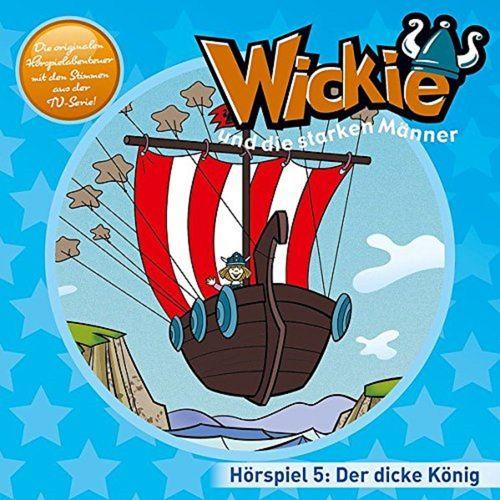 Wickie und die starken Männer Hörspiel CD 005 5 Der dicke König TV-Serie Karussell blau  NEU