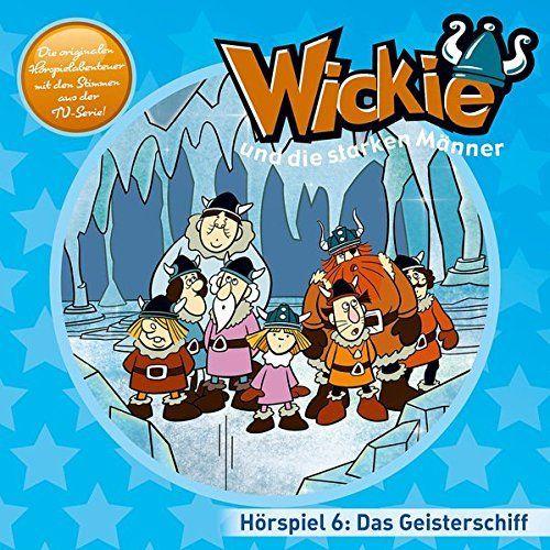Wickie und die starken Männer Hörspiel CD 006 6 Das Geisterschiff  TV-Serie Karussell blau  NEU