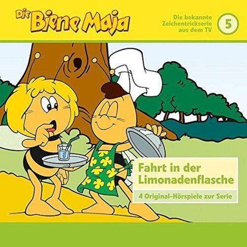 Die Biene Maja Hörspiel CD 005 5 Die Fahrt in der Limonadenflasche Karussell gelb  NEU