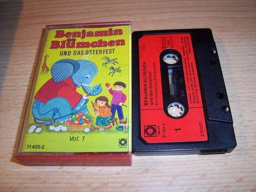 Benjamin Blümchen Hörspiel MC 033 33 und das Osterfest  Kassette Auflage Sonocord 31425-2 gebr.