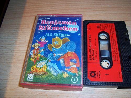 Benjamin Blümchen Hörspiel MC 050 50 als Sheriff  Kassette Auflage Sonocord 31664-6 gebr.