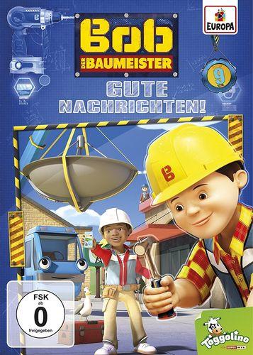 DVD Bob der Baumeister 09 9 Gute Nachrichten!  TV-Serie 4 Episoden 2017 NEU & OVP