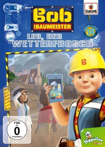 DVD Bob der Baumeister 10 Leo, der Wetterfrosch  TV-Serie 4 Episoden 2017 NEU & OVP