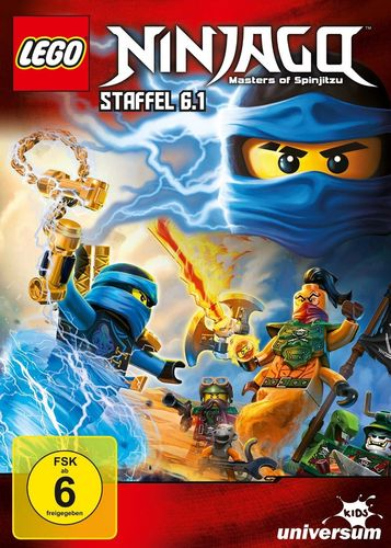 DVD LEGO ® Ninjago Masters of Spinjitzu Staffel 06 6.1 TV Serie Episoden 55-59 BOX NEU & OVP