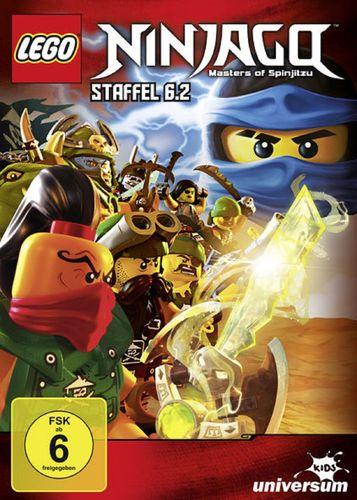 DVD LEGO ® Ninjago Masters of Spinjitzu Staffel 06 6.2 TV Serie Episoden 60-64 BOX NEU & OVP