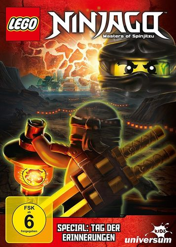 DVD LEGO ® Ninjago Masters of Spinjitzu Special Tag der Erinnerungen TV Serie NEU & OVP