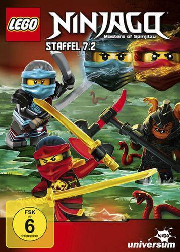 DVD LEGO ® Ninjago Masters of Spinjitzu Staffel 07 7.2 TV Serie Episoden 70-74 BOX NEU & OVP