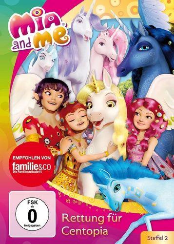 DVD Mia and Me 26 Rettung für Centopia Staffel 2 13 TV-Serie 25+26 OVP & NEU