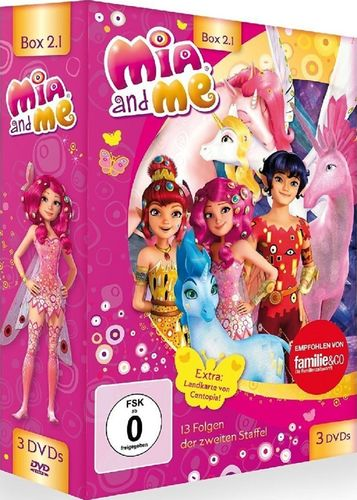 DVD Mia and Me BOX 3 Staffel 2 2.1 Folge 1 - 13  TV-Serie 3 x DVDs OVP & NEU