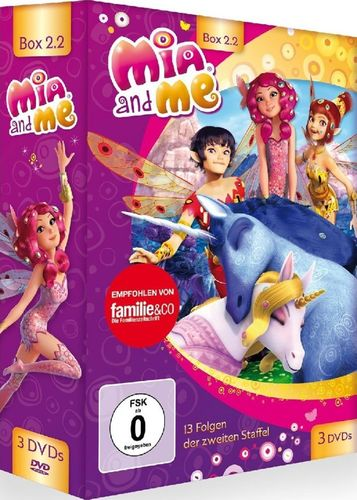 DVD Mia and Me BOX 4 Staffel 2 2.2 Folge 14 - 26  TV-Serie 3 x DVDs OVP & NEU