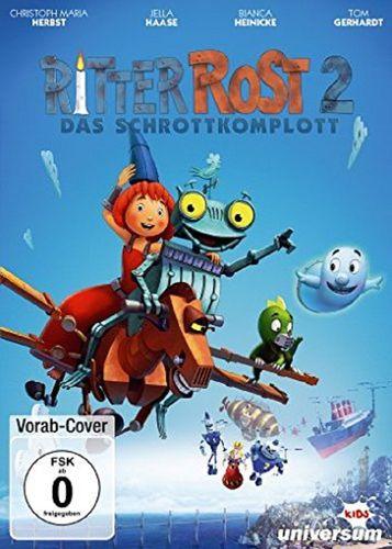 DVD Ritter Rost 2. Kinofilm - Das Schrottkomplott  NEU & OVP