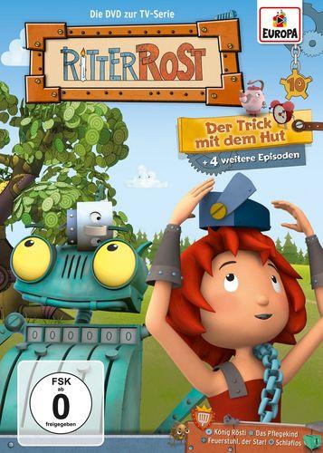 DVD Ritter Rost 10 Der Trick mit dem Hut TV-Serie 5 Episoden NEU & OVP