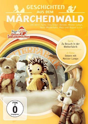 DVD Herr Fuchs und Frau Elster - Geschichten aus dem Märchenwald aus Unser Sandmännchen 03 3  NEU