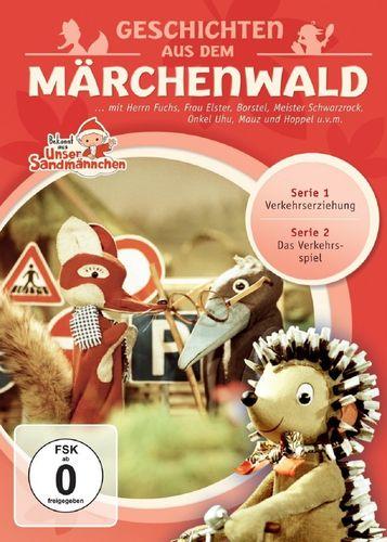 DVD Herr Fuchs und Frau Elster - Geschichten aus dem Märchenwald aus Unser Sandmännchen 04 4  NEU