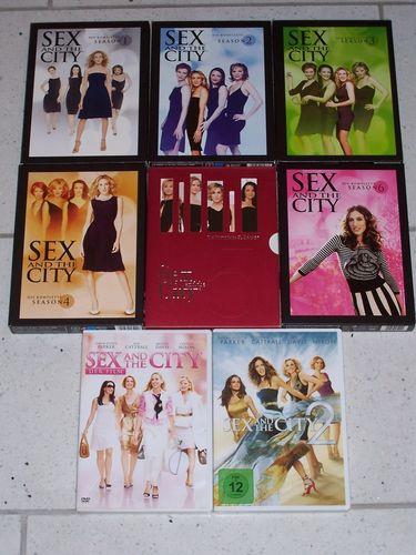 DVD Sex and the City Staffel 1 - 6 18x DVDs TV-Serie 94 Episoden + Kinofilm 1 + 2 komplett Sammlung