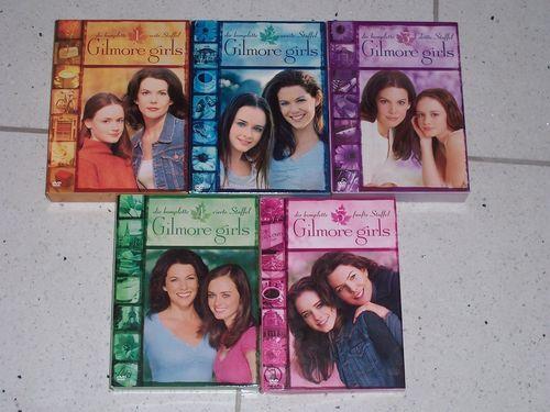 DVD Gilmore Girls Staffel 1 + 2 + 3 + 4 + 5 mit 30x DVDs TV-Serie 109 Episoden komplett Sammlung