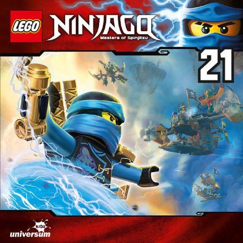 LEGO ® Ninjago Masters of Spinjitzu Hörspiel CD 021 21 Der Geist aus der Teekanne Universum Kids NEU
