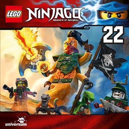 LEGO ® Ninjago Masters of Spinjitzu Hörspiel CD 022 22 Das Vermächtnis des Dschinns Universum NEU