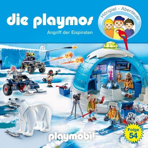 Die Playmos Hörspiel CD 054 54 Angriff der Eispiraten  Playmobil Edel Kids NEU