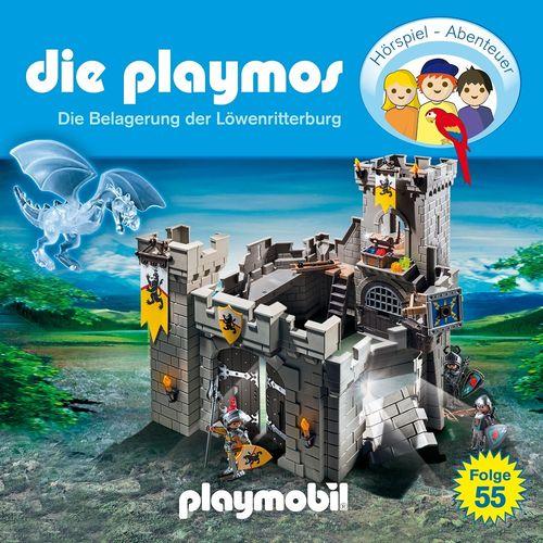 Die Playmos Hörspiel CD 055 55 Die Belagerung der Löwenritterburg  Playmobil Edel Kids NEU