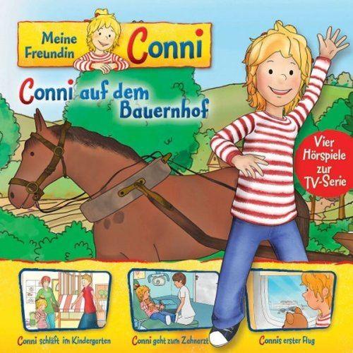 Conni Hörspiel zur TV-Serie CD 002  2 auf dem Bauernhof  - 4 Geschichten  NEU