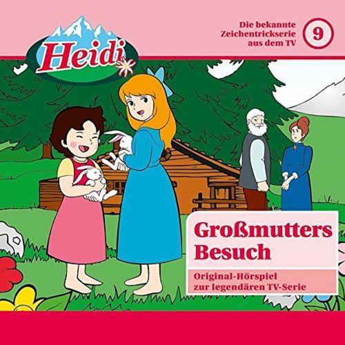 Heidi Classic Hörspiel CD 009 9 Großmutters Besuch  TV-Serie Karussell rosa NEU