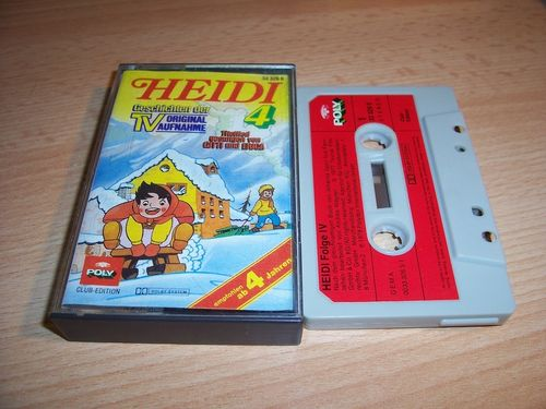 Heidi Hörspiel MC Folge 004 4 Ein neues Leben  Original zur TV-Serie Poly Polydor Club-Edition gebr.