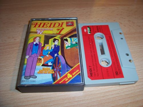 Heidi Hörspiel MC Folge 007 7 Ein Haus im Dörfli  Original zur TV-Serie Poly Polydor gebr.