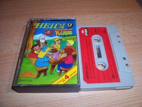 Heidi Hörspiel MC Folge 009 9 Großmutters besuch  Original zur TV-Serie Poly Polydor gebr.