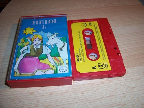 Heidi Hörspiel MC Folge 001 1 Heidi 1. / I  Kassette Bimbo gebr.
