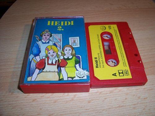 Heidi Hörspiel MC Folge 002 2 Heidi 2. / II  Kassette Bimbo gebr.