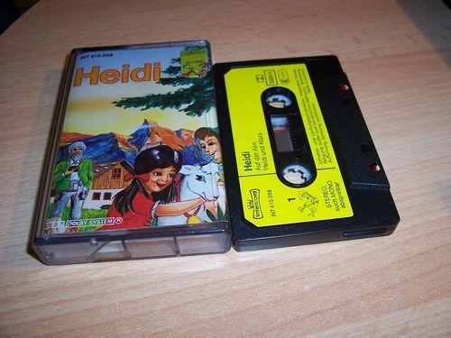 Heidi Hörspiel MC Folge 001 1 Heidi 1 / I  Kassette Intercord gebr.
