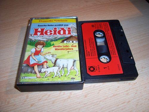Heidi Hörspiel MC Folge 002 2 Heidis Lehr- und Wanderjahre mit Sascha Hehn Sonocord gebr.