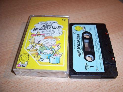 Meine Schwester Klara Hörspiel MC Folge 010 10 und das Lachwürstchen  Kassette SchneiderTon  gebr.