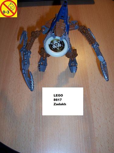 LEGO ® Technic Bionicle Set 8617 - Metru Nui - Vahki Zadakh  gebr.