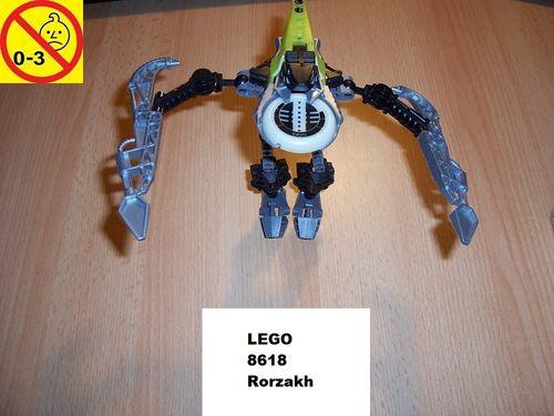 LEGO ® Technic Bionicle Set 8618 - Metru Nui - Vahki Rorzakh gebr.