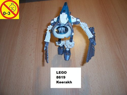 LEGO ® Technic Bionicle Set 8619 - Metru Nui - Vahki Keerakh gebr.