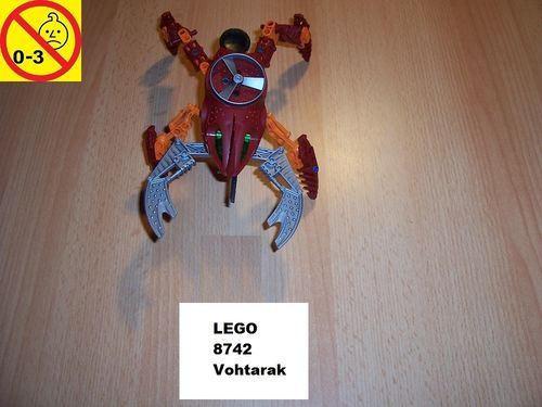 LEGO ® Technic Bionicle Set 8742 - Metru Nui - Visorak Vohtarak gebr.