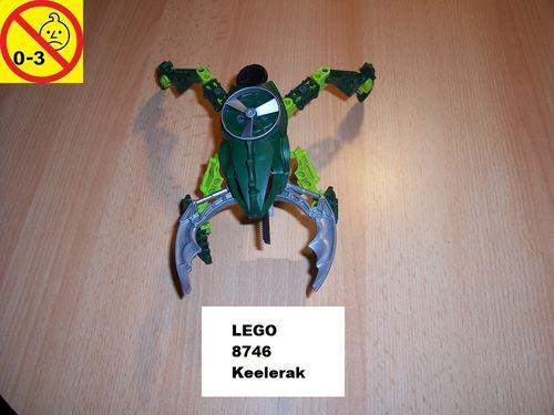 LEGO ® Technic Bionicle Set 8746 - Metru Nui - Visorak Keelerak gebr.