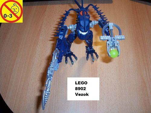 LEGO ® Technic Bionicle Set 8902 - Voya Nui - Piraka Vezok gebr.