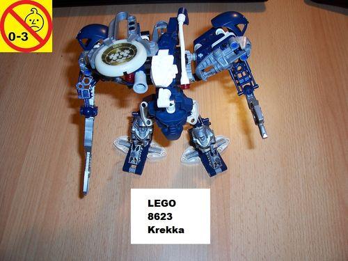 LEGO ® Technic Bionicle Set 8623 - Metru Nui - Krekka gebr.