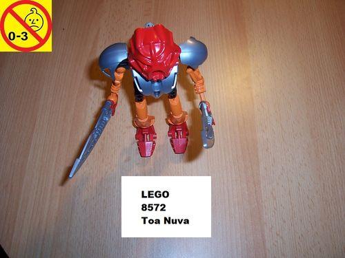 LEGO ® Technic Bionicle Set 8572 - Mata Nui - Tahu Nuva gebr.