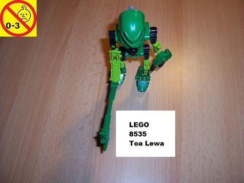LEGO ® Technic Bionicle Set 8535 - Mata Nui - Toa Lewa gebr.