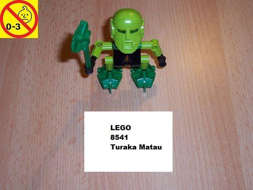 LEGO ® Technic Bionicle Set 8541 - Mata Nui - Turaka Matau gebr.