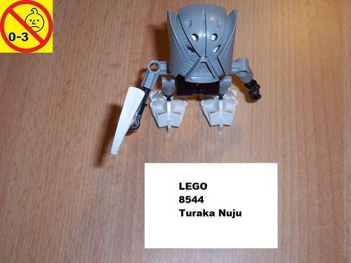 LEGO ® Technic Bionicle Set 8544 - Mata Nui - Turaka Nuju gebr.