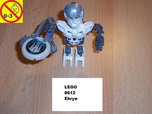 LEGO ® Technic Bionicle Set 8612 - Metru Nui - Matoran Ehrye gebr.